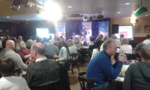 Packed comedy night